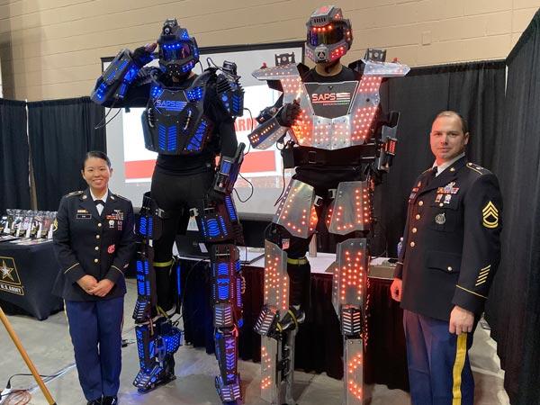 Toyota San Antonio Tx >> SAPS Entertainment – Dancing Robots | LED Robots | Robot ...